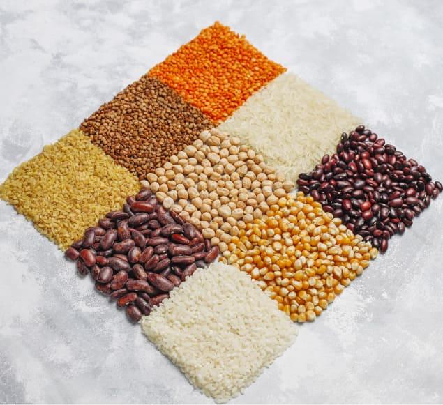 Foto ilustrativa de produtos agrícolas